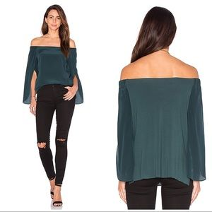 Bailey 44 Trainspot Top in Evergreen Size Large